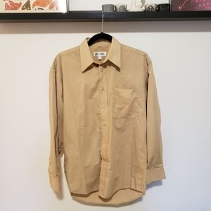 3/$25 Balmain Tan Dress Shirt *Minor Flaws